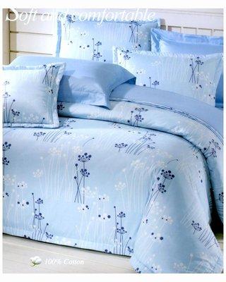 精梳棉歐式壓框厚鋪棉枕頭套兩入-綴影芙蘭-台灣製 Homian 賀眠寢飾