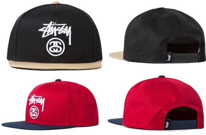 【超搶手】全新正品2016最新款STUSSY STOCK LOCK SP16 SNAPBACK CAP 雙SS 棒球帽