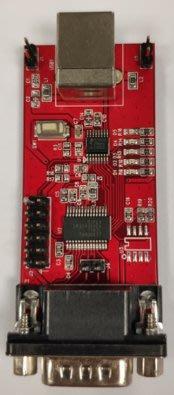 【小比科技】PL2303GS(SSOP16) RS232 demo board