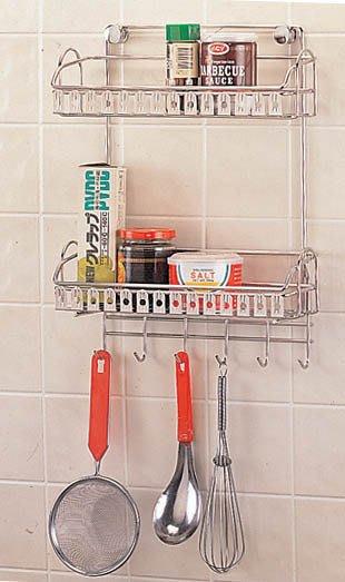 ☆成志金屬廠 ☆ s-27-4b 不鏽鋼調味罐架,304不銹鋼置物架,收納架櫥房浴室皆適宜,經久耐用,調味料架