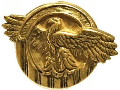 美軍公發 二戰 Honorable Service Lapel Button 榮譽服役胸章