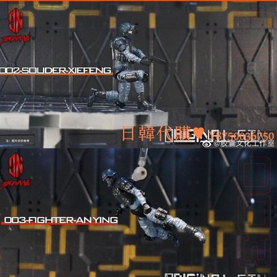 日韓代購~膠囊文化出品原罪1/24拼裝兵人模型scale assemble model soldier