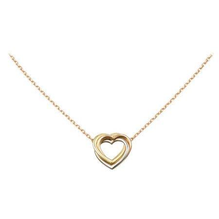 【JHT金宏總珠寶/GIA鑽石專賣】Cartier 三色心項鍊/材質:750/附原廠盒/證(JB35-A25)
