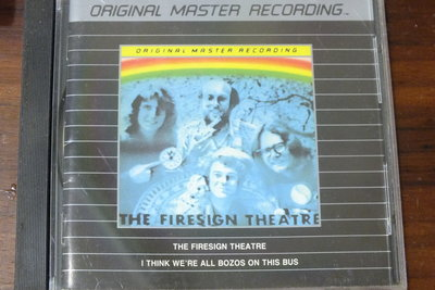 MFSL-The Firesign Theatre I Think We're All Bozos on This Bu