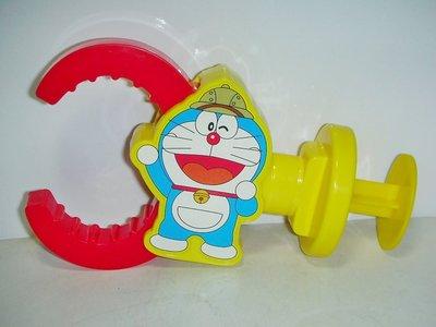 aaL皮商企業寶寶公仔娃娃)近全新2014年麥當勞發行哆啦A夢(Doraemon)魔法機械手!--值得收藏!/6房樂箱6