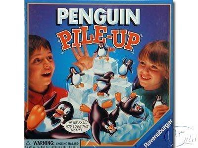 冰島企鵝 Penguin pile-up 冰上企鵝;南極企鵝  冰山疊企鵝 德國桌遊正版全新 (如需中文版 請先提問)