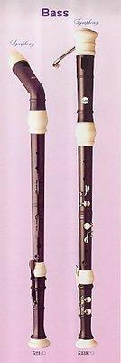【樂器館】AULOS 533 低音直笛英式 日本製(全新產品)