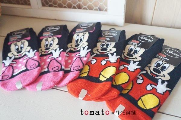 ˙TOMATO生活雜鋪˙日本進口雜貨棉質迪士尼米奇米妮造型短襪船型襪(現貨)