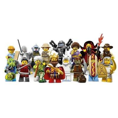 (bear)全新現貨 lego樂高 71008 minifigures  13代人偶 全16隻