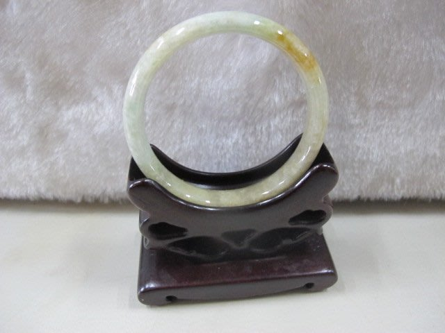 二手舖 NO.4572 天然翡翠 玉石手鐲 玉鐲 手環 玉環 首飾飾品