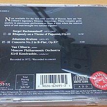 二手CD VAN CLIBURN RACHMANINOV BRAHMS CONCERTO NO.2 RCA