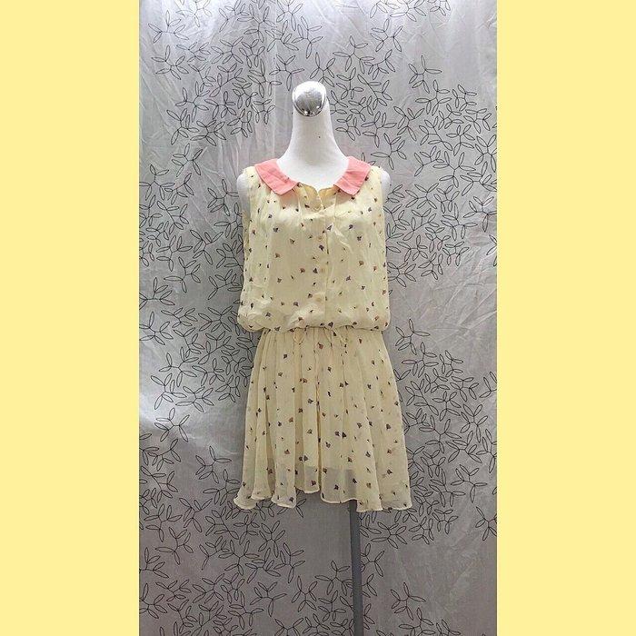 《CUMAR》鵝黃色美洋 活潑可愛 秋冬美衣上架 詳閱敍述 實拍