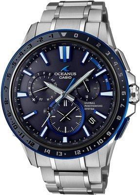 光華.瘋代購 [預購] CASIO OCEANUS OCW-G1200-1A JF 海神 GPS太陽能電波表