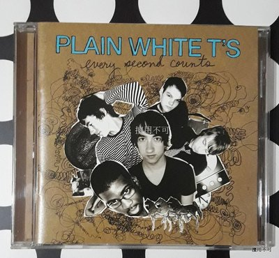 Plain white T′S 就是白 every second counts美版專輯