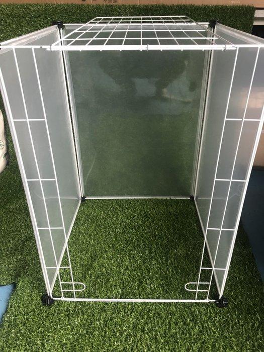 【寵物鐵烤漆門框】可開門 單片 寵物圍欄 多功能圍欄 可擴充圍欄 小狗 兔子 貓咪 狗籠 鐵圍籠 柵欄