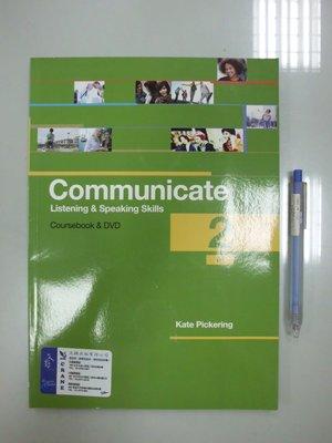 A11-4『Communicate:Listening and Speaking Skills 2 BI (附3光碟)』