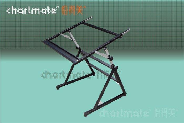 chartmate 恰得美 製圖桌:478TS A型製圖架 (適用A1~A0尺寸圖板)