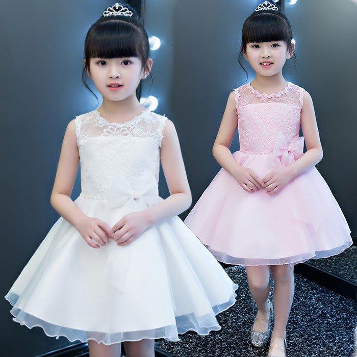 韓版《蕾絲鏤空款》紗裙 /畢業典禮/花童/宴會/禮服 正式場合必備款 (J2-4)