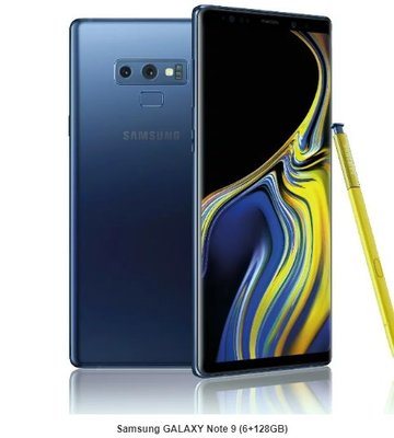 全新香港行貨 Samsung GALAXY Note 9 (6+128GB)