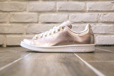 【紐約范特西】現貨 Adidas Stan Smith AQ5938  三葉草 玫瑰金 男/女鞋 運動鞋