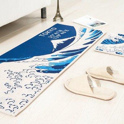 日式和風長條地墊 居家廚房浴室門墊腳踏墊(50cm*80cm)_☆優購好SoGood☆