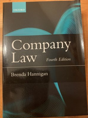 Company Law Fourth edition Published In: Oct 2015