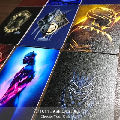 MARVEL 復仇者聯盟 黑豹 icash2.0 悠遊卡 一卡通 限量 卡貼 9張一組 另有 鋼鐵人 美國隊長