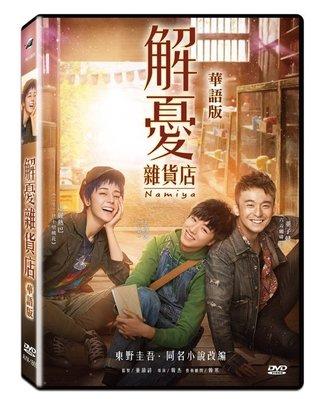 『光碟超市』電影  解憂雜貨店 華語版 DVD 全新正版-起標價=結標價