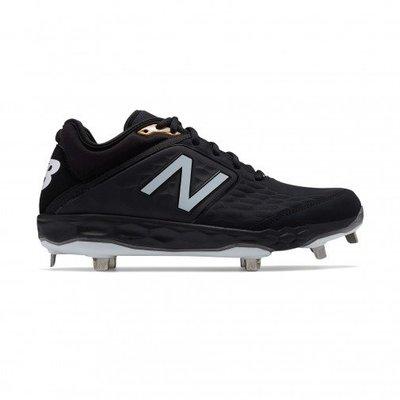New Balance NB L3000SK4 2E 寬 棒壘球鞋 鐵釘 黑