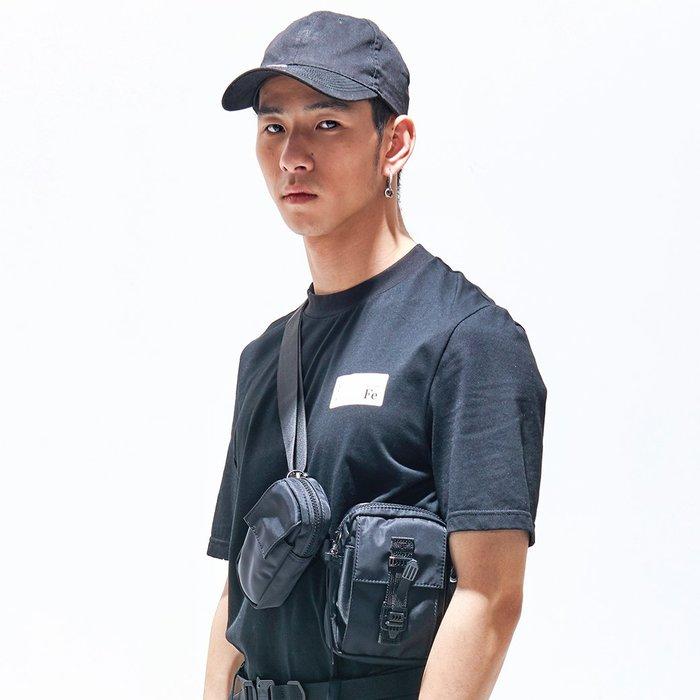 【OTOKO Men's Boutique】固制:極簡圓領厚質地短袖/黑色(台灣獨家代理)
