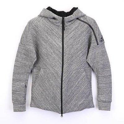 Look 鹿客 adidas ZONE系列外套 女 連帽外套 B46931