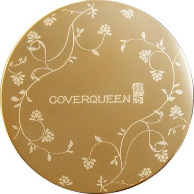 【趣買市集】韓國COVER QUEEN 韓方金燦完美遮瑕定妝粉餅1個+粉餅補充包4個+遮瑕膏1個