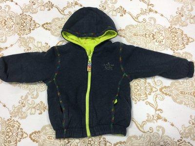80cm二手專櫃童裝, 銅板價起標~ hallmark超保暖雙面穿外套