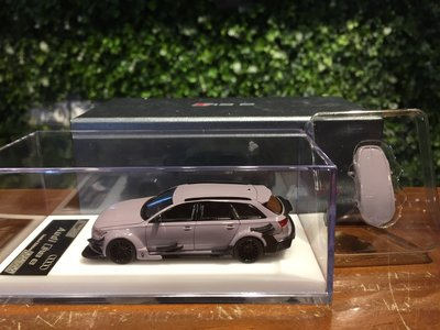 1/64 HPI Audi RS6 DTM Cement Grey 附行李包【MGM】