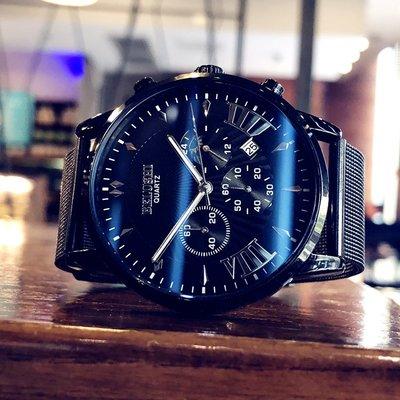 個性手錶新款概念時尚潮流韓版手表男士防水學生個性多功能夜光石英表