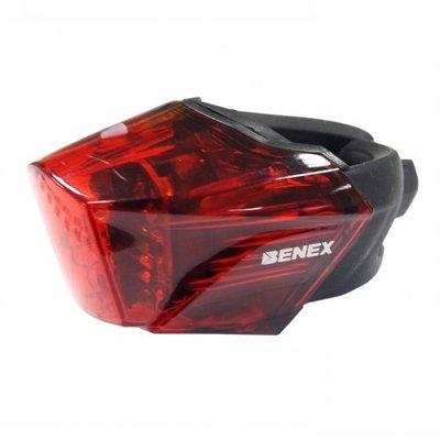 棋盤象 運動生活館 【BENEX】ET-3207 鷹眼 K-mark 自行車燈 尾燈 (不閃爍電池版) 出清特價