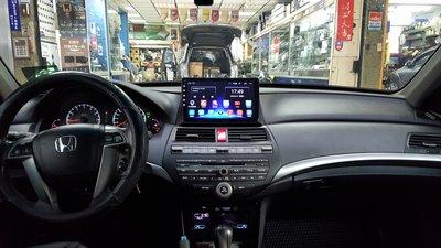 本田雅歌八代 ACCORD 8代 (08-13) 2021年新款10.2吋安卓10.0版八核心6+128智能導航旗艦車機