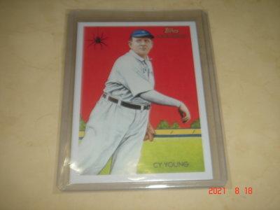 美國職棒 Red Sox CY Young  2010 Topps National Chicle 球員卡