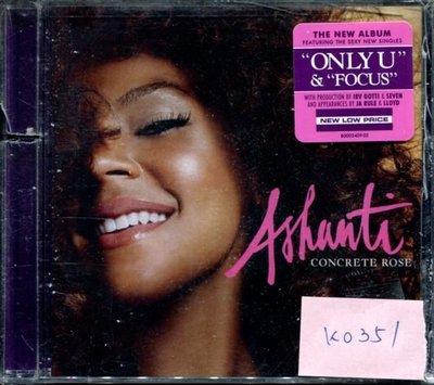 *真音樂* ASHANTI / CONCRETE ROSE 美版 全新 K0351 (左殼切痕) (清倉.下標賣3)