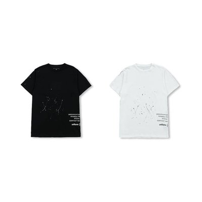 uniform experiment SS19 UEN DRIPPING TEE 短T 兩色