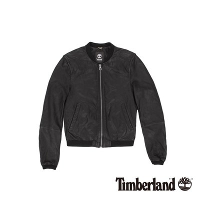 專櫃正品 Timberland  Belknap 皮革飛行夾克外套 (女) 免運