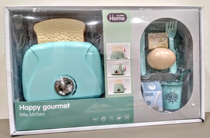 兒童仿真烤麵包機玩具🎉麵包會跳起來哦 音樂燈效🎉兒童烤麵包機辦家家酒玩具 兒童益智玩具 生日禮物🎀現貨桃園🎀