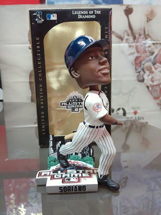 《金塊》MLB洋基隊 Soriano 明星賽2003 ALL STAR GAME 限量編號 FOREVER 搖頭公仔 El Silencioso 收藏