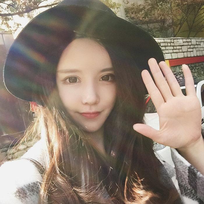 ✿悠悠家✿韓國秋冬季毛呢帽子女英倫復古小禮帽黑色百搭大檐沿爵士帽潮