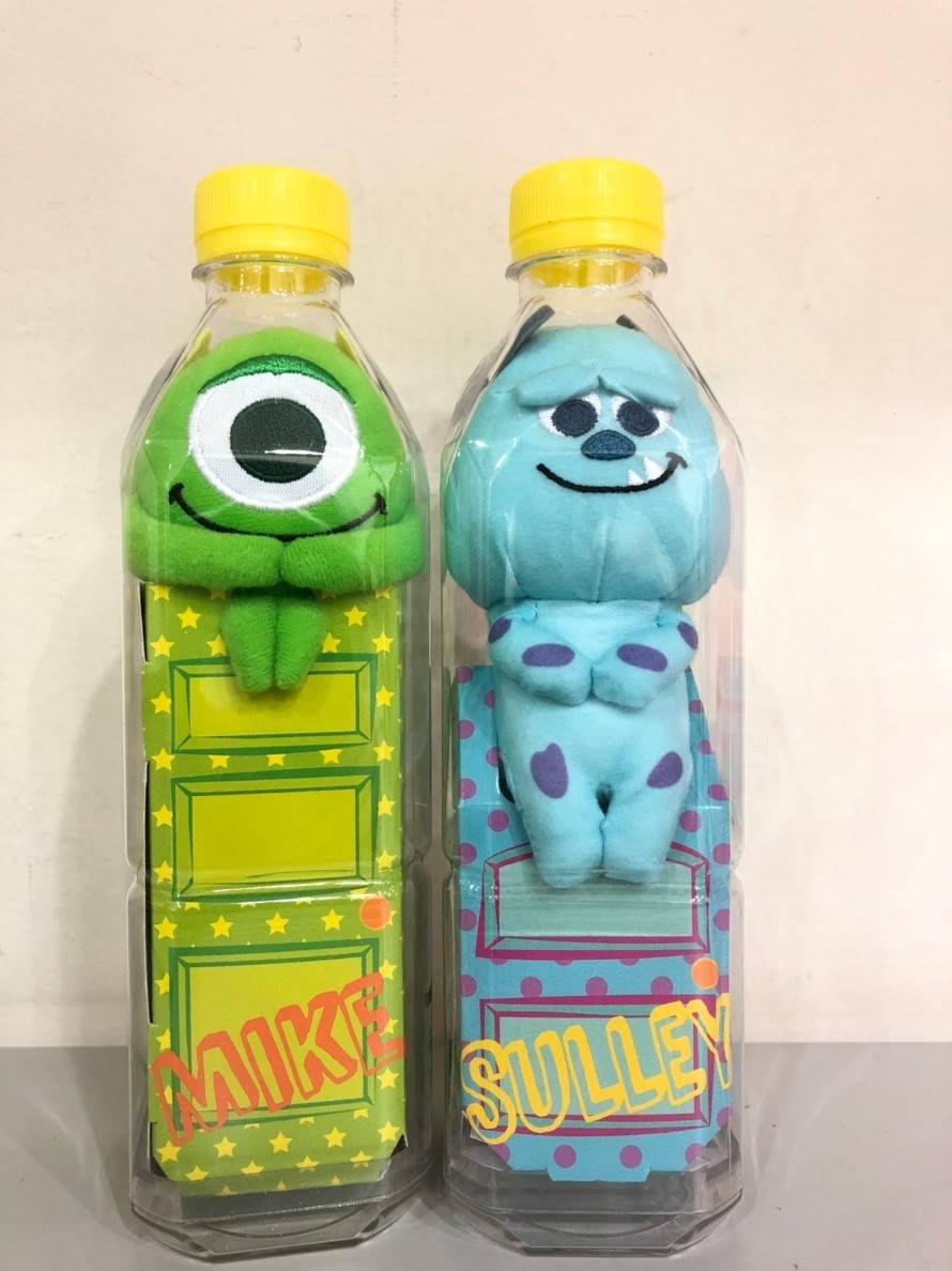 2019限定🤙 午後の紅茶 X 怪獸電力公司 迪士尼 坐姿 瓶中 玩偶 毛怪/大眼仔 現貨 不含飲料
