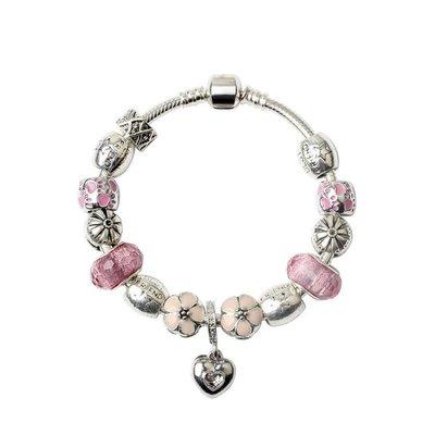 水晶手鍊新品 時尚飾品DIY鑲鑽手飾 yq212