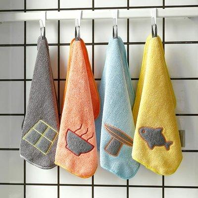 【04628】超細纖維吸水布 袜布 小方巾 隔熱墊 毛巾