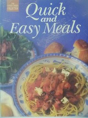 【月界二手書店】Quick and Easy Meals_Rachel Blackmore 〖餐飲〗AGW