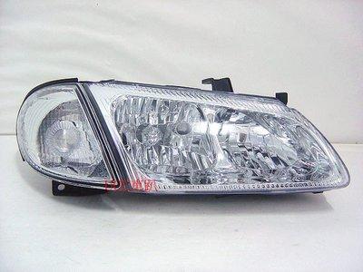 【UCC車趴】NISSAN 日產 SENTRA 180 N16 00-02 原廠型 晶鑽大燈+角燈 (DEPO製)