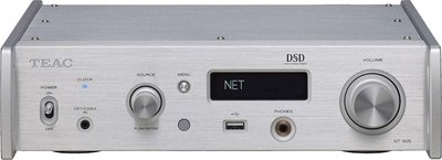 光華.瘋代購 [預購] TEAC NT-505 銀色 網路串流 音樂播放機 USB DAC